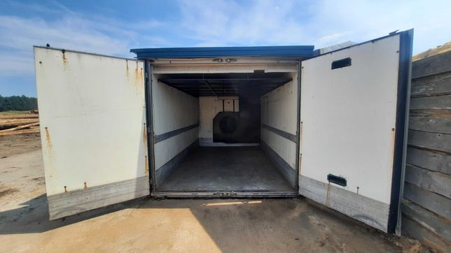 Aerodynamiczna kontenerowa suszarnia do drewna