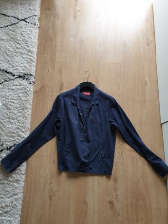 Casaco azul-escuro da marca Replay - tamanho L