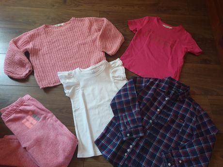 Paka 116 dziewczynka koszulka swter koszula hm mayoral