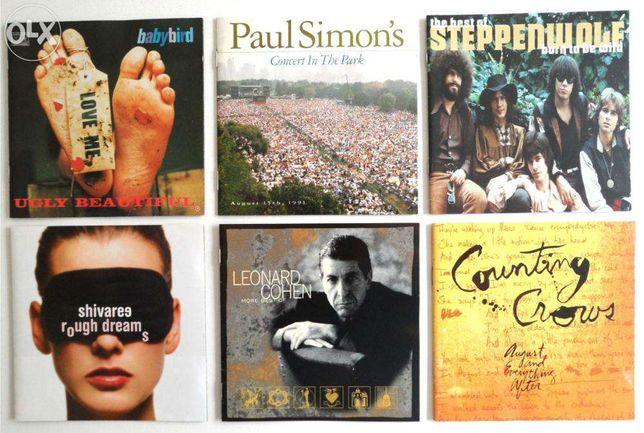 CD's Música Pop / Rock (individualmente ou em lote)