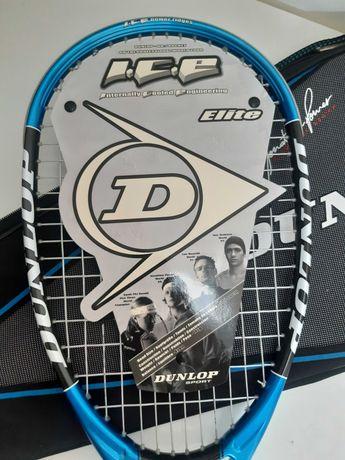 Raquete de Squash Dunlop NOVA, ainda com plasticos de proteção.