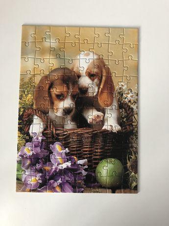 Puzzle pieski.