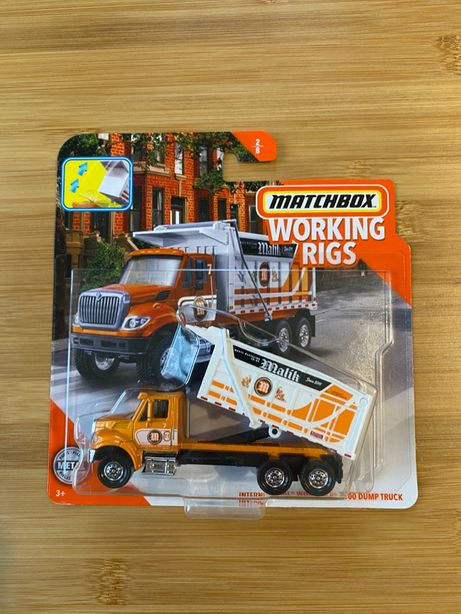 Matchbox International Workstar 7500 Dump Truck [Working Rigs] RZADKI!