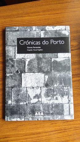 Livro Crónicas do Porto