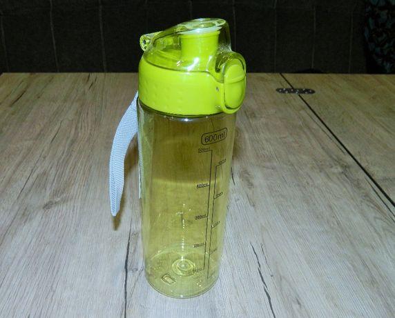 Пластиковая спортивная бутылка с ручкой, бутылка , фляга, поилка