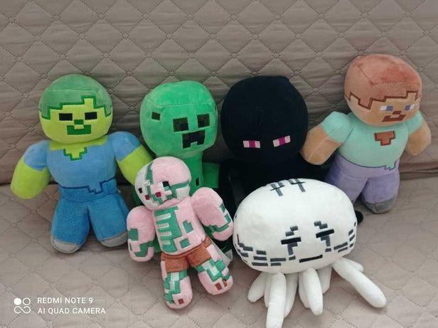 Zestaw Maskotek Minecraft OKAZJA !!!