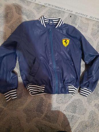 Детский бомпер, куртка на мальчика 4 - 5 лет