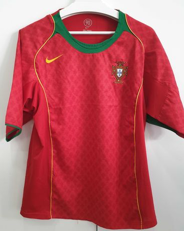 Camisola Seleção Nacional – Portugal 2004-06 – Tamanho L
