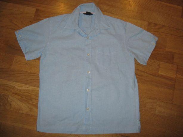 Хлопковая тениска (рубашка) на мальчика 10-12-ти лет
