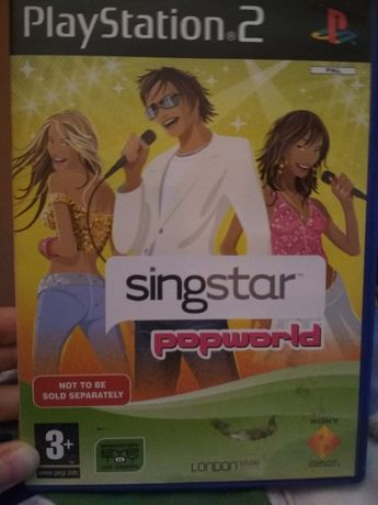 Gra na playstation 2 SingStar Popworld