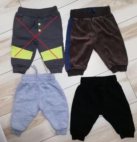 Spodnie dresowe PRIMARK, H&M, Pepco rozm. 68