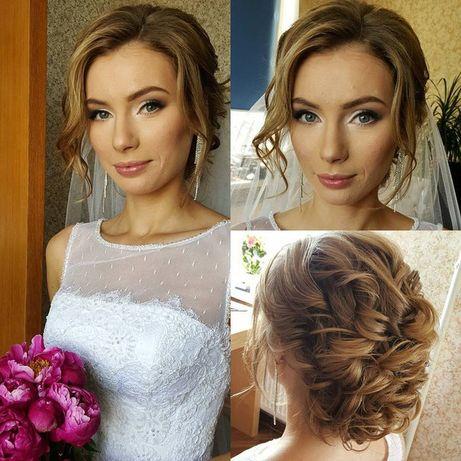 Визажист. Свадебный образ. Свадебный и вечерний макияж. Прически.