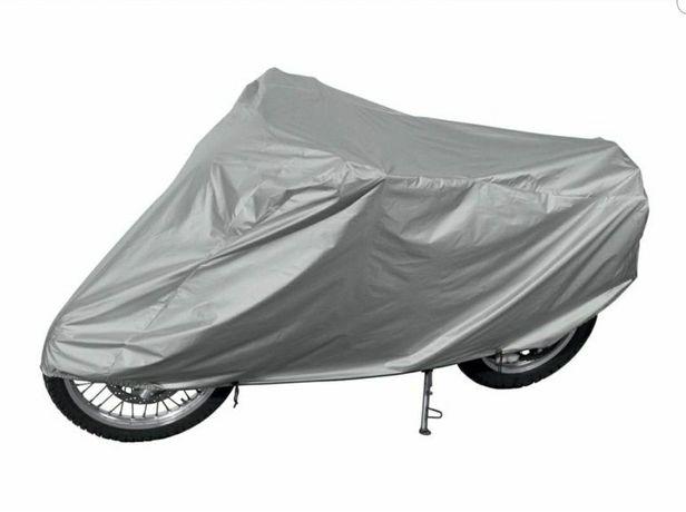 Nowy duży pokrowiec na motocykl motor plandeka 235 x 80/60 x 128/98 cm