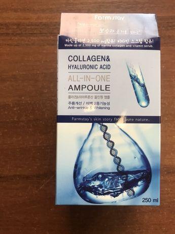 Ампульная сыворотка с коллагеном и гиалуроновой кислотой