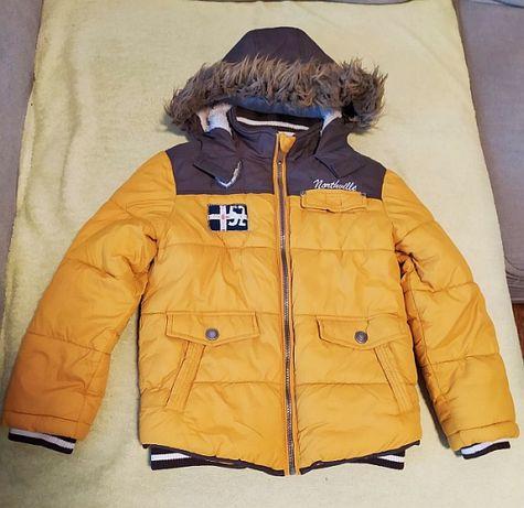 Kurtka zimowa dla chłopca, rozmiar 122