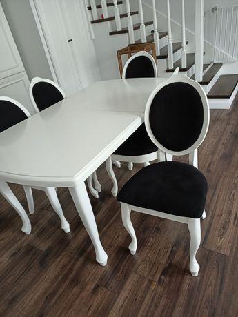 Piękny klasyczny stół i 8 krzeseł w bardzo dobrym stanie technicznym