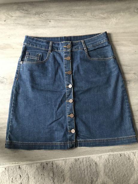 Dżinsowa spódnica rozmiar 36
