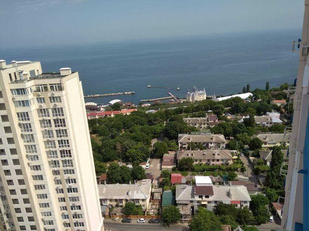 АТ. Новый Берег. ул Литературная. Новобереговая. 78 м2  Вид на море.