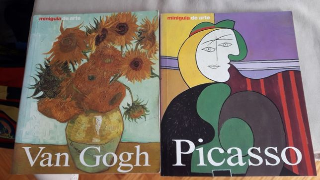 Vang Gogh e Picasso - mini guia de arte