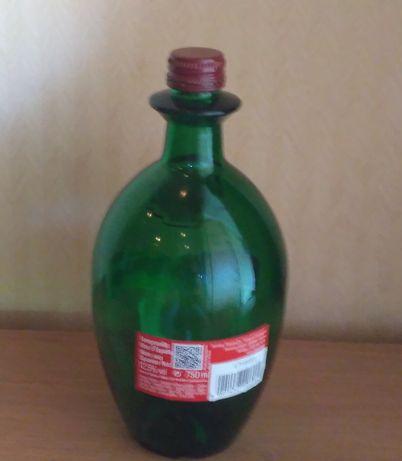 Бутылка-пузырь винная, в коллекцию или для интерьера