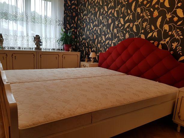 Łóżko sypialnia 180x200 plus materace