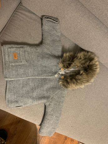 Sweter kurtka lattante 92 98 bez futerka