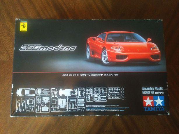TAMIYA Сборная модель автомобиля Ferrari 360 modena