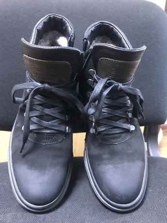 Зимние ботинки (нубук)
