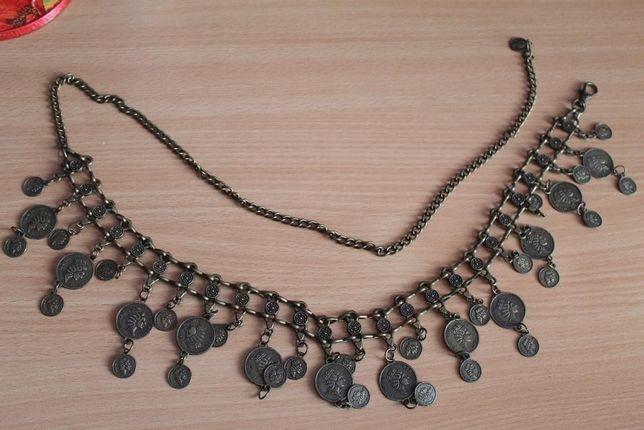 Восточный пояс с монетами