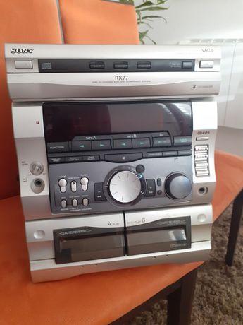 Aparelhagem de som Sony RX 77, avariada
