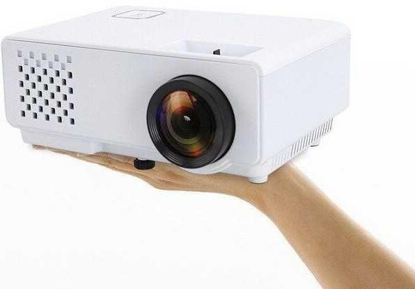 проектор новый Led1000люмен Rias Dl810 дома + HDMI