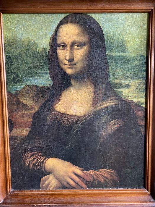 Репродукция Моно Лиза на холсте Ирпень - изображение 1