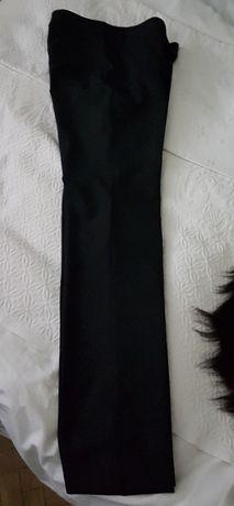 MaxMara Sportmax czarne spodnie wełna XS