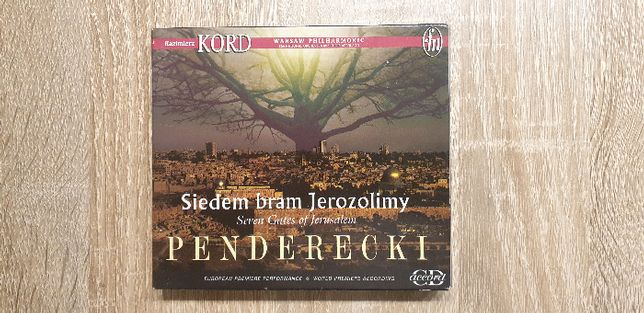 Penderecki_Siedem bram Jerozolimy_Album CD_Oryginał_wersja limit.