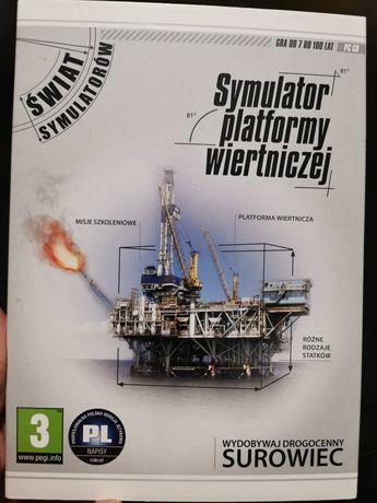 Gra PC - Symulator Platformy Wiertniczej PL