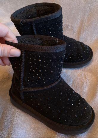 Угги детские, сапоги, ботинки натуральный замш
