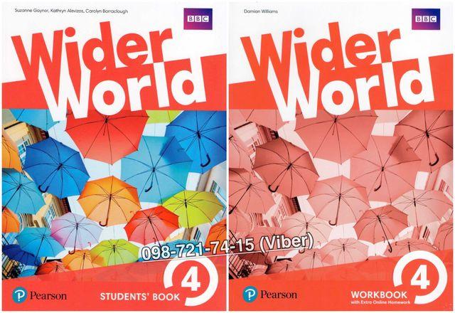 Wider World 4. Student's Book + Workbook (+CD)