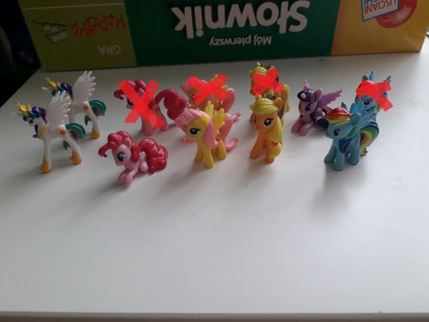 My Little Pony Movie film figurki z napoju Riviva z Biedronki