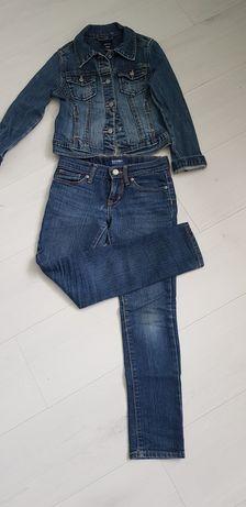 Джинсы на девочку/джинсовка/джинсовая куртка/комплект