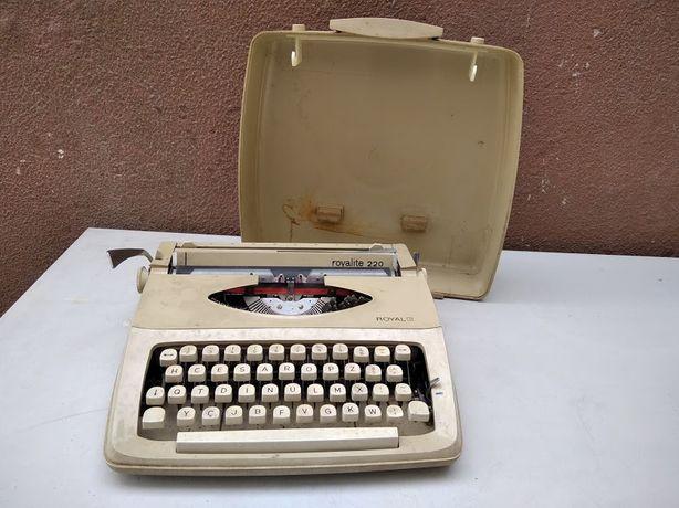 Máquina de Escrever Portátil da Royal