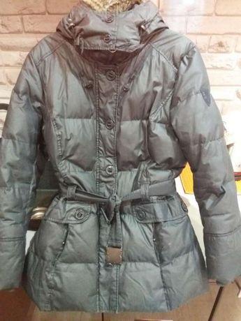 Куртка пуховик на девочку подростка