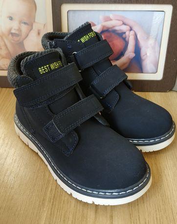 Ботинки Clibee демисезонные для мальчика 28 29 30 31 32 33 черевики