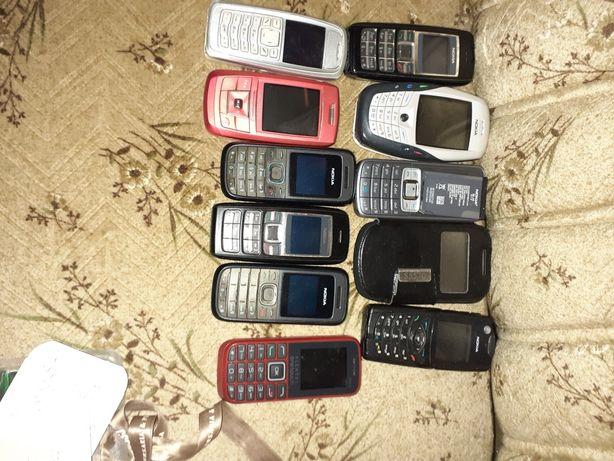 Telefones muito tempo sem uso mas todos trabalhavam