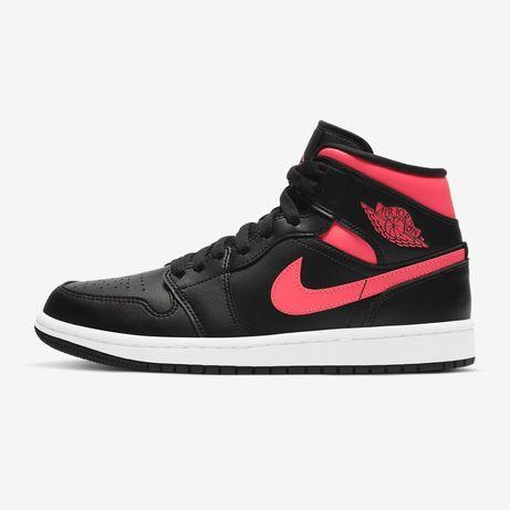 Оригинальные кроссовки Wmns Nike Air Jordan 1 Mid (BQ6472-004) force