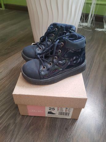 Buty dla dziewczynki, botki