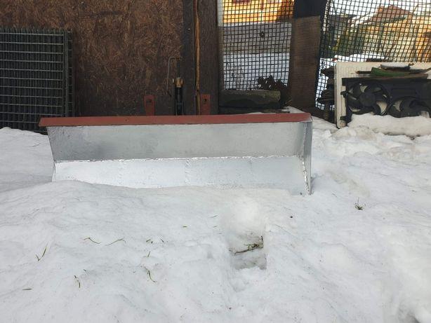 Mini pług do śniegu uniwersalny