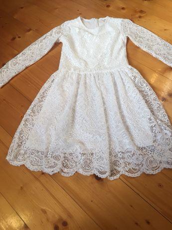 Sukienka koronkowa 8 lat