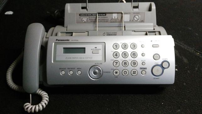 Fax + teléfono Panasonic KX-FP205