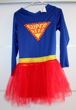 Strój Super Dziewczyny 10-12 lat