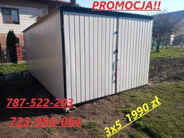 Promocja!! garaż 3x5 Kolor